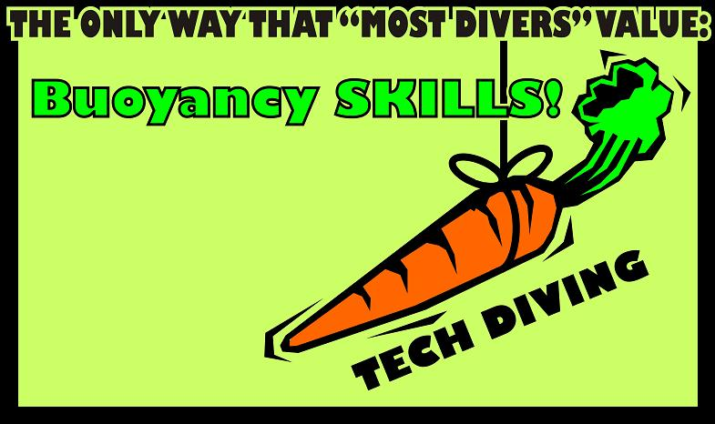 THE TECH DIVER CARROT ON A STRING
